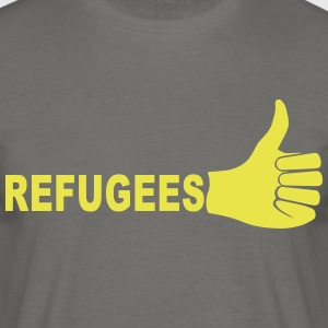Refugees - Men's T-Shirt