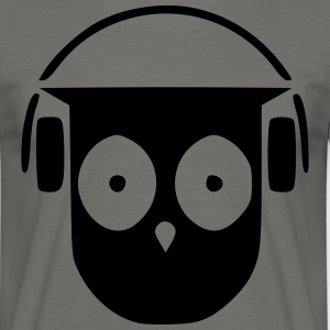 My own DJ owl - Men's T-Shirt