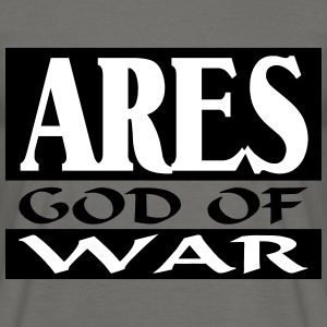 Ares _-_ God_Of_War - Herre-T-shirt