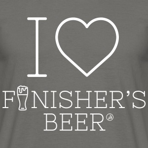 I love Finisher's Beer - Men's T-Shirt