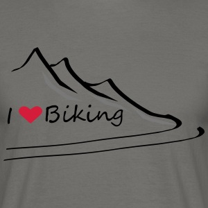 Ilovebiking1 - Men's T-Shirt