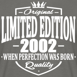 Limited edition 2002 - Männer T-Shirt