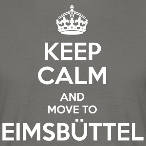 Keep Calm and move to Eimsbüttel - Men's T-Shirt