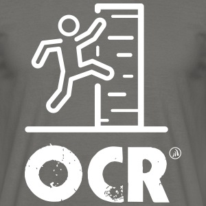 OCR - hindernisbaan - Mannen T-shirt