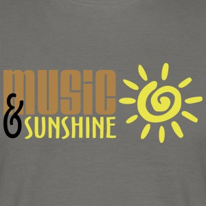 Music and Sunshine - Men's T-Shirt