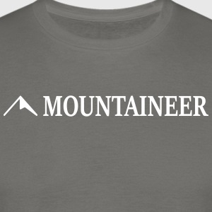 mountaineer - Men's T-Shirt