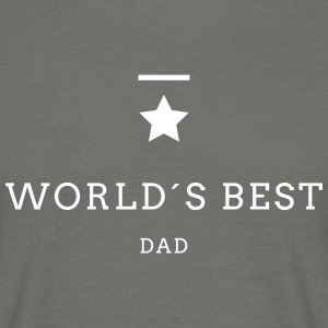 WORLD´S BEST DAD - Männer T-Shirt