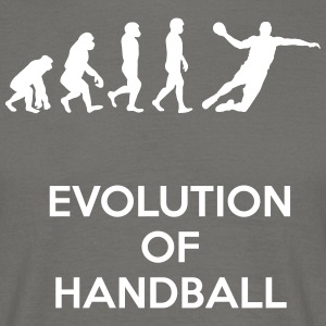 Evolution des Handball - Männer T-Shirt