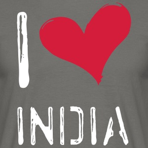 I love India - Männer T-Shirt