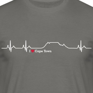 I love Cape Town (Table Mountain) - Men's T-Shirt