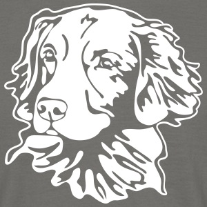 Nova Scotia Duck Tolling Retriever PORTRET - Mannen T-shirt