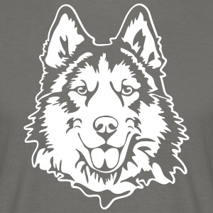 HUSKY PORTRAIT - Men's T-Shirt