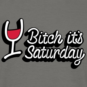Trump Saturday Bitch - Men's T-Shirt