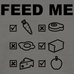 Feed Me Vegan - T-shirt herr