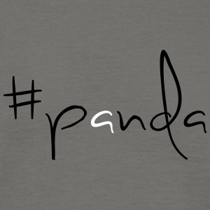 #panda! - T-skjorte for menn