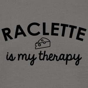 Raclette is my therapy - Men's T-Shirt