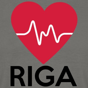 heart Riga - Men's T-Shirt