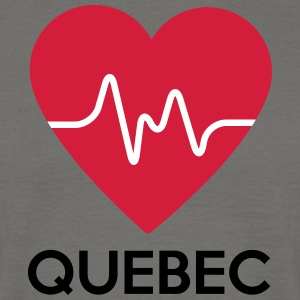heart Quebec - Men's T-Shirt