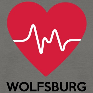 heart Wolfsburg - Men's T-Shirt