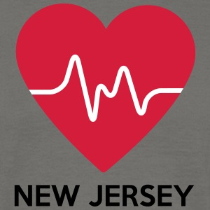 Heart New Jersey - Men's T-Shirt