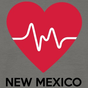 Hart van New Mexico - Mannen T-shirt