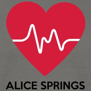 Heart Alice Springs - Herre-T-shirt