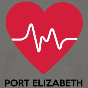 Heart Port Elizabeth - Men's T-Shirt
