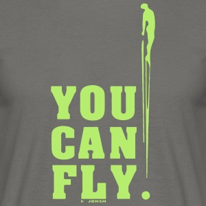 you can fly GREEN SIDE - Men's T-Shirt
