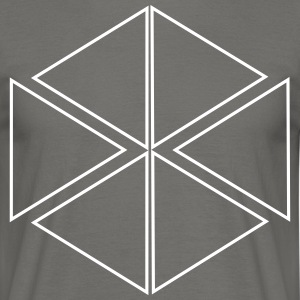 motif triangulaire - T-shirt Homme