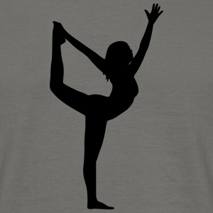 yoga pose - T-shirt herr