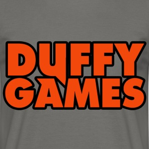 Duffygames Orange. - T-shirt Homme