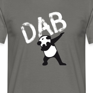 Panda schar deppen hiphop Football Dance LOL touchd - Mannen T-shirt
