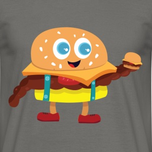 Cute Burger - Men's T-Shirt