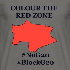Color the red Zone - Men's T-Shirt