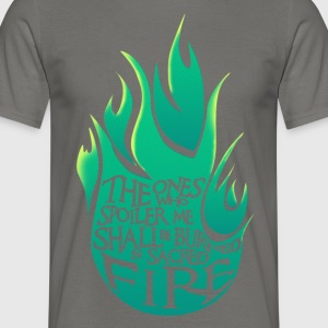 Heiliges Feuer - Green Version - Männer T-Shirt