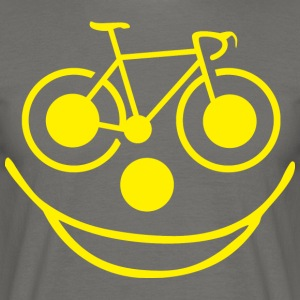 Funny Bicycle - Mannen T-shirt
