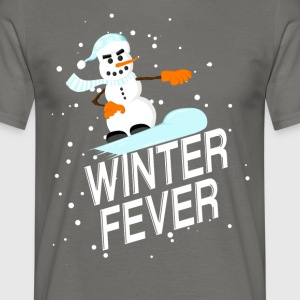 Winter Fever - T-shirt herr