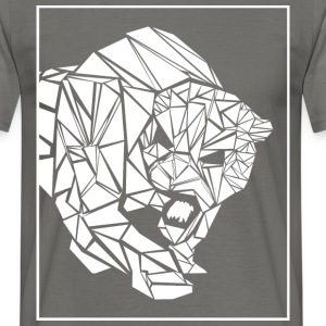 Panter, abstrakt - T-shirt herr