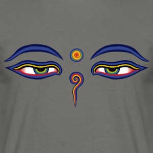 Buddha Eyes - Men's T-Shirt