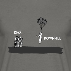 Downhill Lover - T-shirt & Hoody - Mannen T-shirt