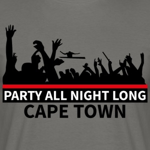 CAPE TOWN Party - Mannen T-shirt