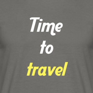 Time to travel - T-shirt Homme