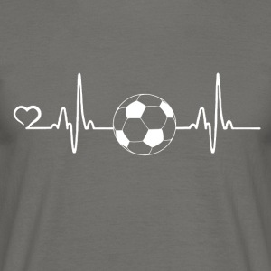 Football - battement de coeur - T-shirt Homme