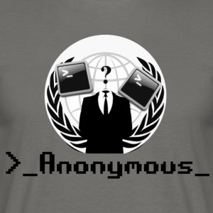Anonym - T-skjorte for menn