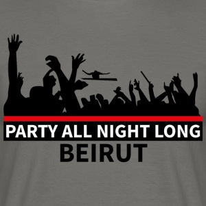 Party All Night Long Beyrouth - T-shirt Homme