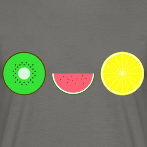 DIGITAL FRUGTER - Hipster KIWI LEMON MELON - Herre-T-shirt