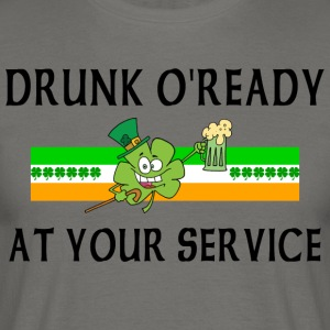 Irish Drunk - Men's T-Shirt
