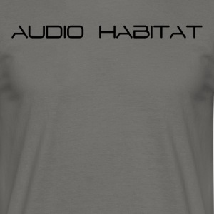 Audio_Habitat - Men's T-Shirt