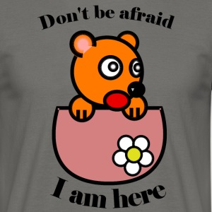 teddy - Herre-T-shirt