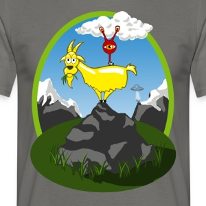 Strainge - Golden Goat Marijuana Strain - Men's T-Shirt